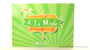 A La Mode E-Liquid Line Card