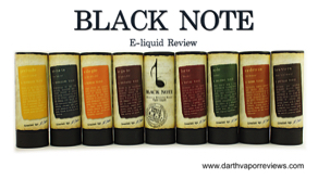 Black Note: Tobacco E-Liquid Line