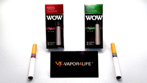 V4L: WOW Vapor King Disposable Electronic Cigarette