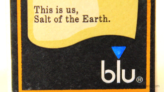 Blu Cigs Salt of the Earth Nic Salt E-Liquid Box
