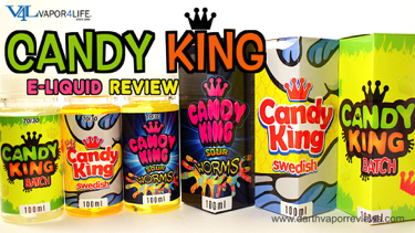 Candy King E-Liquid Line Review