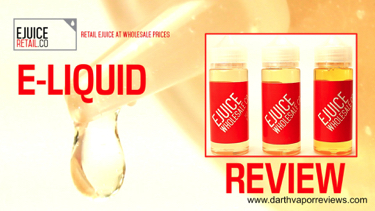 Ejuice Wholesale Co E Liquid Review