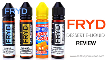 FRYD E-Liquid Line Review