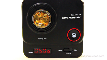 CoilMaster DIY Kit V3 521 Mini V2 Tab Ohm Reader