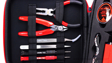 CoilMaster DIY Kit V3 Tools Left Side