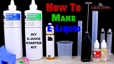 Liquid Barn How To Make E-Liquid DIY Ejuice Starter Kit Tutorial