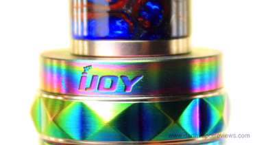 iJoy Zenith 3 Box Mod Diamond Tank Top Cap
