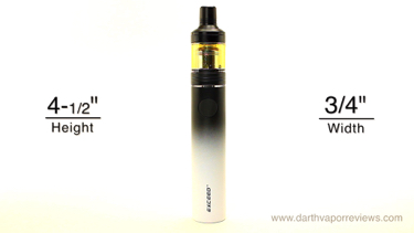 Joyetech Exceed D19 Dimensions