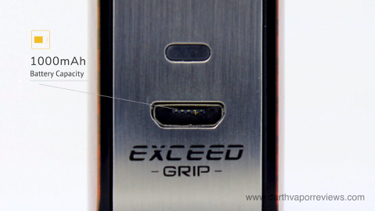 Joyetech Exceed Grip USB Charging Port