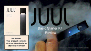 JUUL Vape Pod System Basic Starter Kit Review