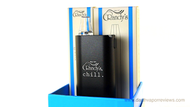 Randy's Chill Freezable Tube Herbal Vaporizer Unboxing