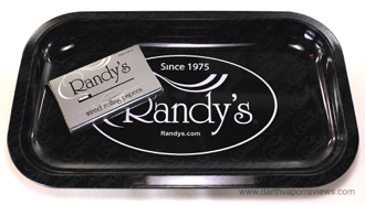 Randy's Wired Rolling Papers and Rolling Tray