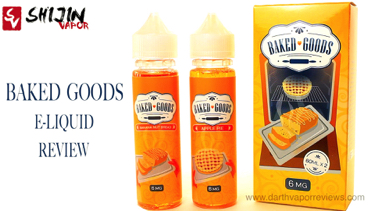 Shijin Vapor Baked Goods E-Liquid Line Review