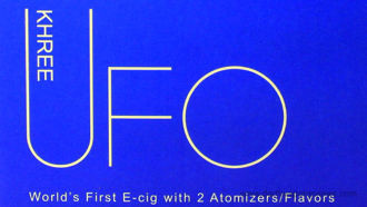 UFO by Khree Dual Vaping Pod System Box Logo