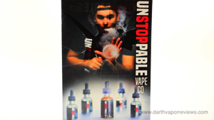 Unstoppable E-Liquid Logo