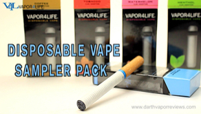 V4L Disposable E-Cigs Vape Sampler Pack Review