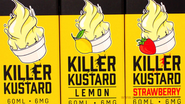 Vapetasia Killer Kustard E-Liquid Line Labels