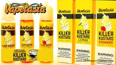 Vapetasia Killer Kustard E-Liquid Line Review