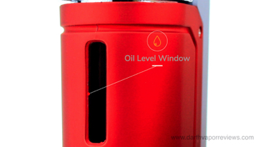 Yocan UNI Oil Level Window